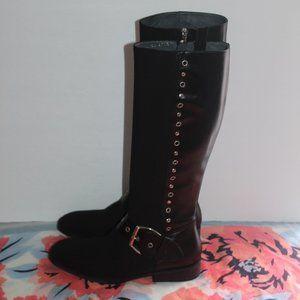 Donald J Pliner Gale Black Boots Women 8 M